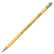 Wholesale CASE of 25 - Dixon Ticonderoga Soft No. 2 Woodcase Pencils-Ticonderoga Pencil,w/ Eraser,No 2 Med. Soft, 12ea/DZ, YW