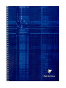 Clairefontaine Classic Wirebound Notebooks 21cm . x 30cm . ruled with margin 50 sheets [PACK OF 5 ]