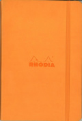 Rhodia Orange Webnotebook 3.5X5.5 Dot Grid