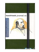 Hand Book Journal Co. Travelogue Drawing Journals 8.9cm . x 14cm . portrait cadmium green [PACK OF 2 ]