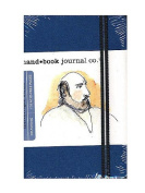 Hand Book Journal Co. Travelogue Drawing Journals 8.9cm . x 14cm . portrait ultramarine blue [PACK OF 2 ]