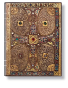 Paperblanks Lindau Gospels Journals Handstitched Ultra 18cm . x 23cm . 128 pages, lined