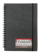 Cachet Fusion Sketch Journal Folio 18cm . x 25cm . black