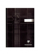 Clairefontaine Cloth-bound Notebooks 15cm . x 21cm . ruled 96 sheets [PACK OF 3 ]