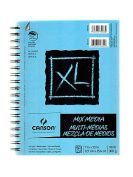 Canson XL Mix Media Pads 18cm . x 25cm . pad of 60 sheets wire bound [PACK OF 3 ]