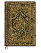 Paperblanks Baroque Ventaglio Journals Marrone Grande, 21cm . x 30cm . 240 pages, unlined