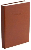 British Tan Leather Italian Hardbound Journal 23cm X 18cm