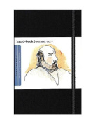 Hand Book Journal Co. Travelogue Drawing Journals 14cm . x 21cm . portrait ivory black [PACK OF 2 ]