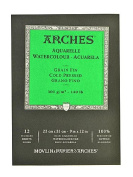 Arches Watercolour Pad 23cm . x 30cm . cold pressed 140 lb. [PACK OF 2 ]