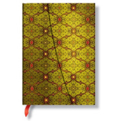 Paperblanks French Ornate Journals Vert Midi, 13cm . x 18cm . 144 pages, unlined