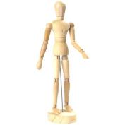 Wooden Human the Manikin Mannequin - 20cm Tall