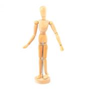 Wooden Human the Manikin Mannequin - 30cm Tall