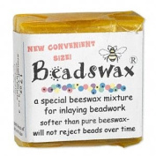 Beadswax Bead Adheasive Wax for Inlay Beadwork - 30ml