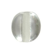 "BrilliantCut 5/16"" (8Mm) Clear Smooth Crystal Bead"
