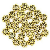 Change Lots 200pcs Tibetan Daisy Spacer Metal Beads 4mm Jewellery Making