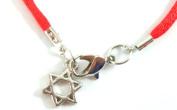 Kabbalah Red String with Star of David