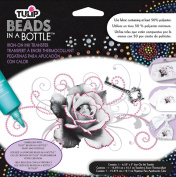 Tulip Beads In A Bottle Iron-On Ink Transfers 16cm x 13cm 1/Pkg-Rose