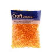 Pony Beads, Sun Gold, 6 x 9mm, 480pc Pkg