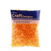 Pony Beads, Sun Gold, 6 x 9mm, 480pc Pkg