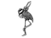 Sterling Silver Flamingo Charm