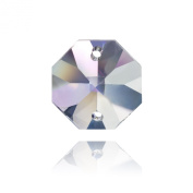 Connie Crystal 14mm Octagon Crystal, 10 Units