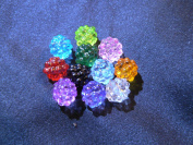 Little Berries Beads - assorted lot of 10