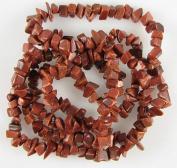 "5-7mm goldstone chip beads 36"" strand chips"