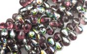50 Amethyst Vitral Czech Glass Teardrop Beads Teardrops 8MM