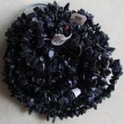 Economy Blue Goldstone Gemstone Chips