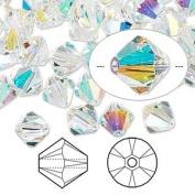 . Crystal 5328 6mm XILION Crystal AB Bicones - 24 Pack