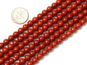 Round Red Jasper Beads Strand 38cm Jewellery Making Beads