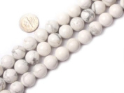"16mm Round White Howlite Beads Strand 15"" Jewellery Making Beads"