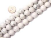 """16mm Round White Howlite Beads Strand 15"""" Jewellery Making Beads"""