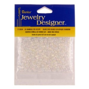 8/0 Glass Seed Beads, 20 Gramme Pkg