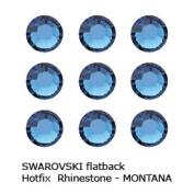 ". Crystal Hotfix Flatback RHINESTONE #2028 Xilion Rose ss10~2.8mm ""MONTANA"""