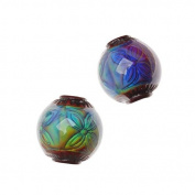 Mirage Colour Changing Mood Beads - Round Ruby 12mm Diameter
