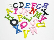 Alphabet Beads DIY Wood Letter 15x20mm 300/pkg Mixed Colour ~Jewellery Making~