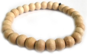 Thai Buddhist Wooden Prayer Blessed Beads Mala Wristband Bracelet from Thailand