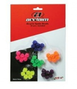ACTION SPOKE BEADS ACCLAIM 36 PIECE NEON MULTI colour