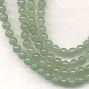 6mm Green Aventurine Round Beads