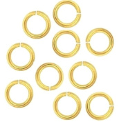 20 Ga Solid Brass 4 Mm O/d Jump Ring 340 P. 30ml Saw-cut Made in USA