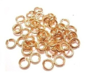 20 Ga Solid Bronze 5 Mm O/d Jump Ring 260 P. 30ml Saw-cut Made in USA