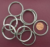TEN 38mm STEEL SPLIT RINGS