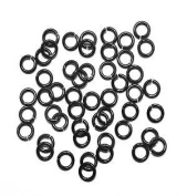 """SNAPEEZ® """"The Snapping Jump Ring"""" - SNAPEEZ® II ULTRAPLATE® Blackjack Ring Hard Open Jump 6mm Heavy Gauge"""