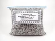 1 Pound Bright Aluminium Chainmail Jump Rings 0.6cm ID