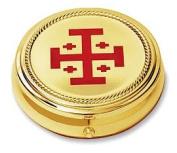 Jerus Crss Hosp Pyx-7.9cm 2p