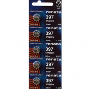 397 Watch battery - Strip of 5 Batteries
