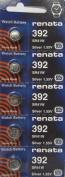 392 Watch battery - Strip of 5 Batteries