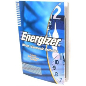 Energizer Watch Battery Cross Reference Guide Tool Book - WBR12182
