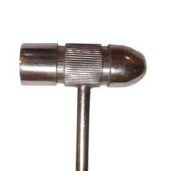 17cm Solid Stainless Steel Ball Peen Hammer